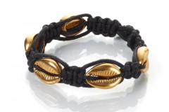 Gold Seashells Bracelet - Thin